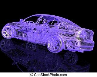 汽車, 模型