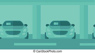 汽車, 背景, shop.