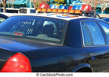 汽車, 警察