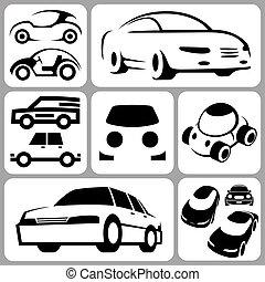 汽車, 集合, 圖象