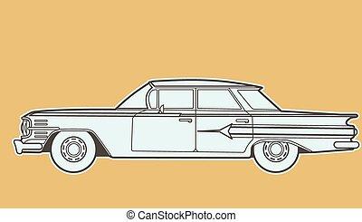 汽車, retro