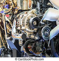 汽车引擎, 部分