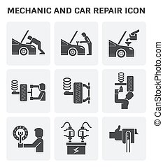 汽车机械士, 图标