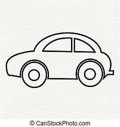 汽车, 图标