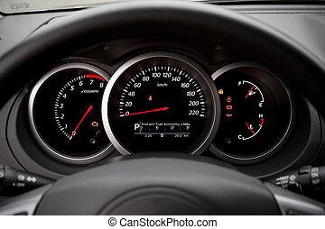 汽车, 现代, dashboard