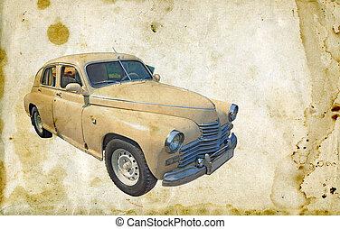汽车, retro