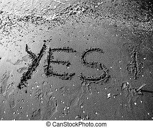 沙子, 是, 寫, 海
