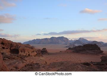 沙漠, 約旦, 干涸河道, 甘蔗酒