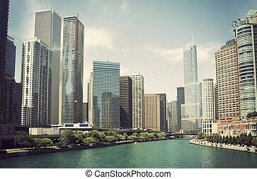 河, 芝加哥