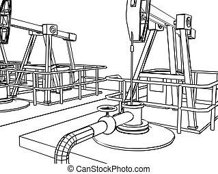油泵, 特寫鏡頭