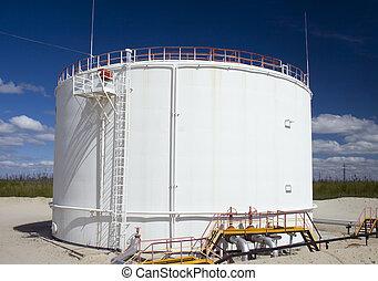 油, 水庫