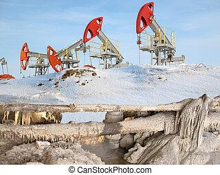 油, 障礙物