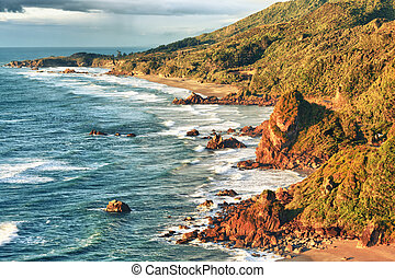 沿岸である, 光景