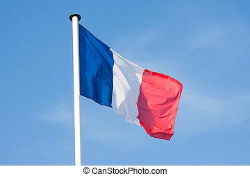法國旗, 吹乘風