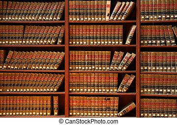 法律书, 图书馆