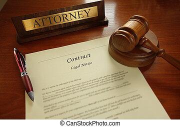 法律的合同