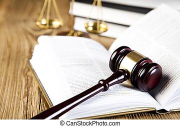 法律, そして, 正義, 概念, 法的, コード