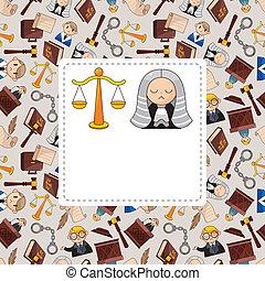 法律, カード