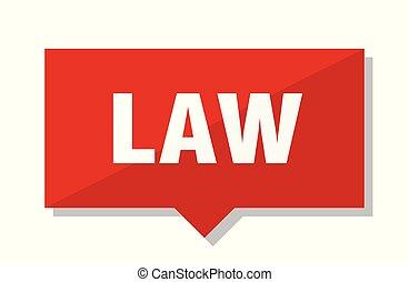法律, タグ, 赤