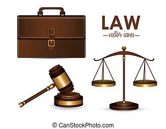 法律, デザイン