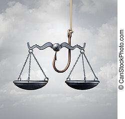 法律, トラップ