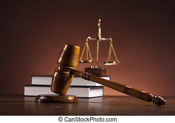 法律, 同时,, 公正