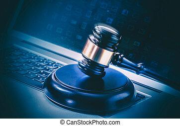 法律, 法律, 概念, 形象