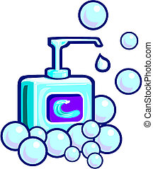 泡, ∥あるいは∥, 液体, 石鹸