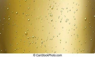 泡, シャンペン, 空気
