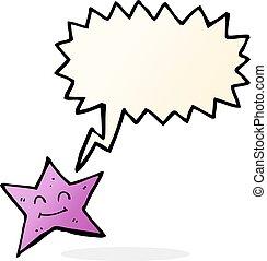 泡, スピーチ, 星, 漫画, 特徴