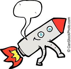 泡, スピーチ, 漫画, ロケット, 幸せ