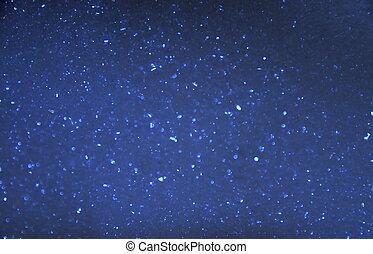 泡, 暗い 青, 背景