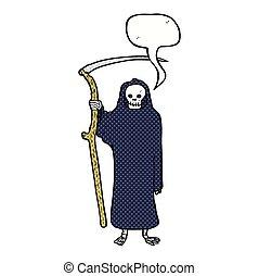 泡, 死, スピーチ, 漫画