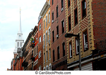波士頓, 舊的北方教堂