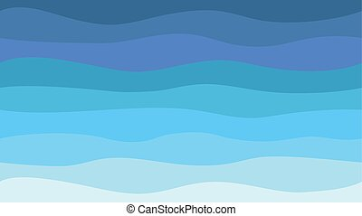 波, パターン, 海, 背景, 自然, hd, seamless, 抽象的, 現代, 青