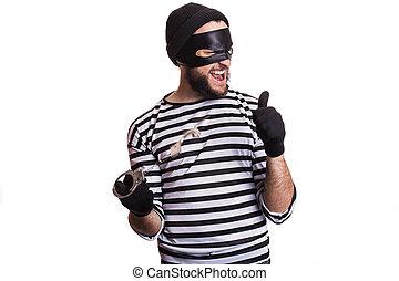 泥棒, 犯罪者, 強盗, 犯罪