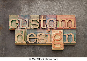 注文製のデザイン