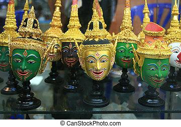 泰國, 面罩,  khon