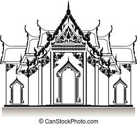 泰國, temple.