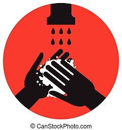 洗いなさい, どうか, あなたの, 手