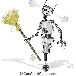 洗剤, ロボット
