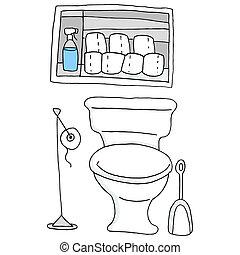 洗手间, 浴室, 纸