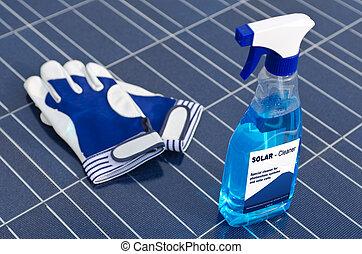 洗浄剤, 細胞, -, 太陽, 英語