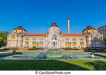 洗澡, 房子, 在中, sofia, 保加利亚
