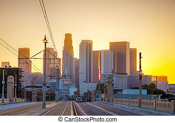 洛杉矶, cityscape