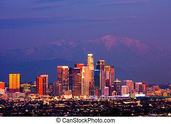 洛杉磯, 夜間