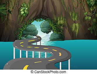 洞穴, 道, 長い間