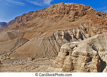 洞, ......的, qumran, 以色列