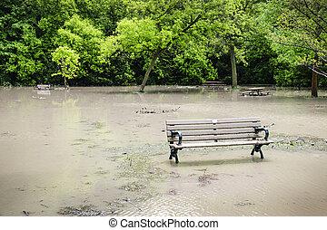 洪水, 公園