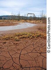 洪水, 損害, 谷, boisfort, wa